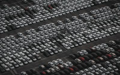 Spadek produkcji samochodów