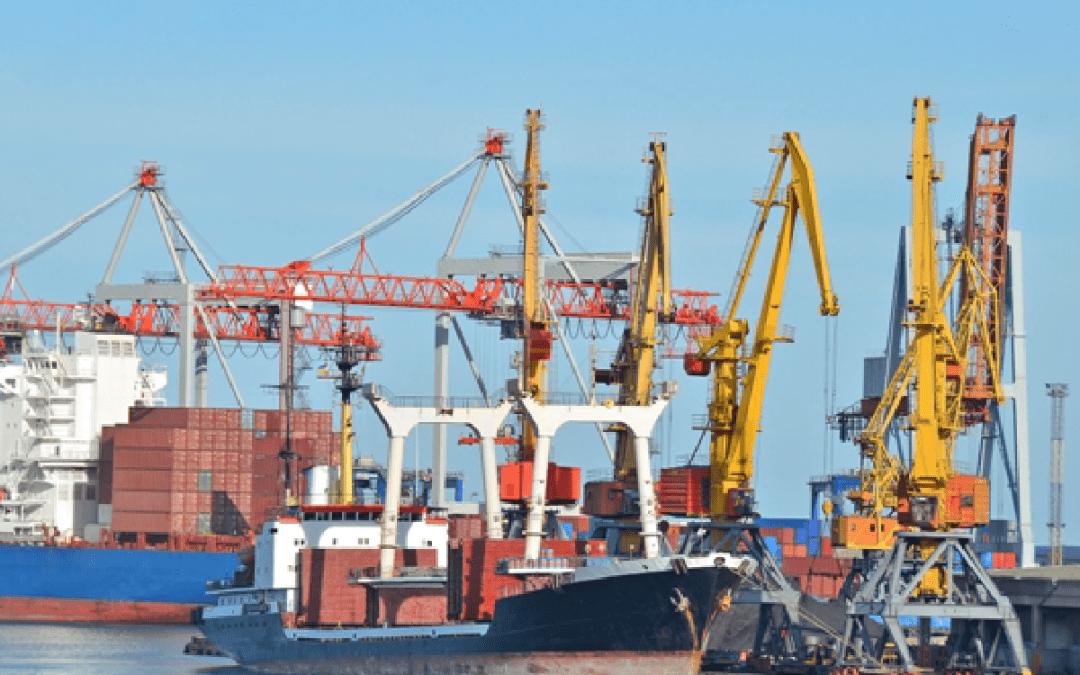 Porty morskie zwiększyły przeładunki