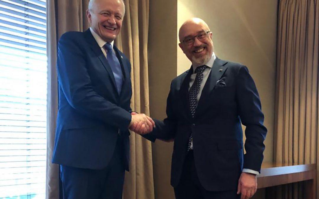 Spotkanie Reznikow – Piechota