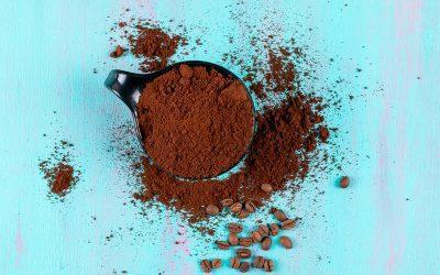 Fusy z kawy przed gołoledzią