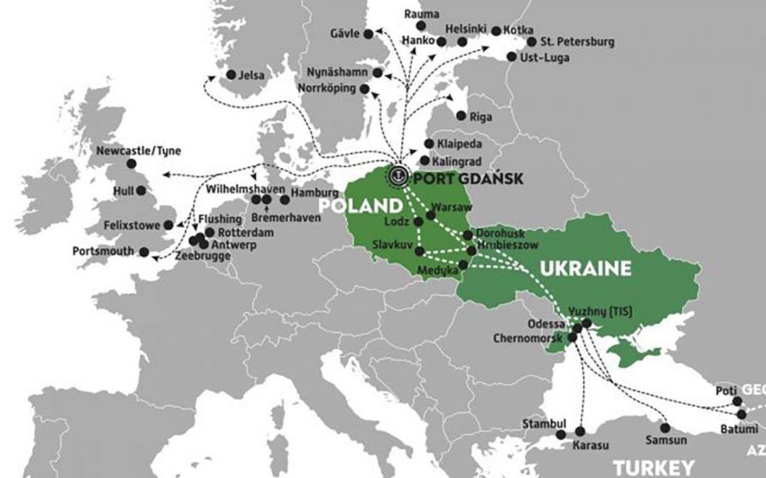 Korytarz: Szwecja – Polska – Ukraina – Turcja