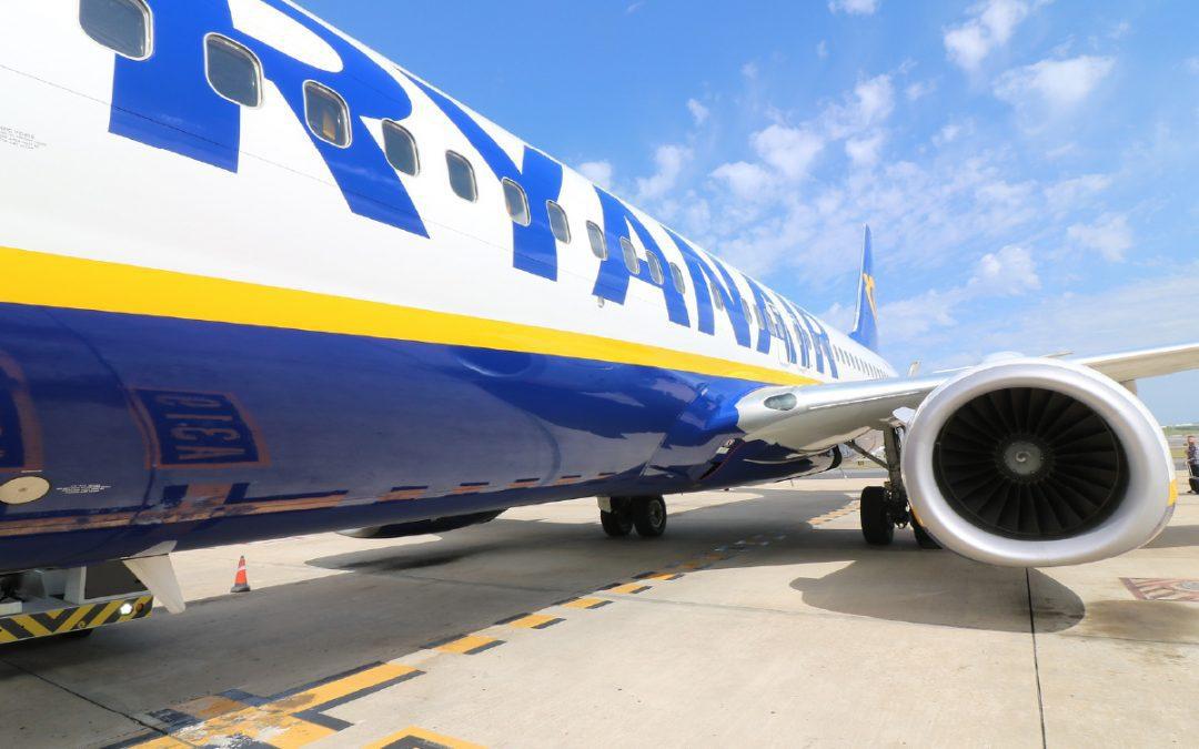 """Ukraina może """"otworzyć niebo"""" dla Ryanair"""