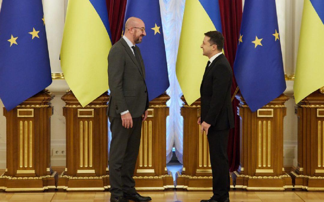 """Szczyt Ukraina – UE """"otworzył niebo"""""""